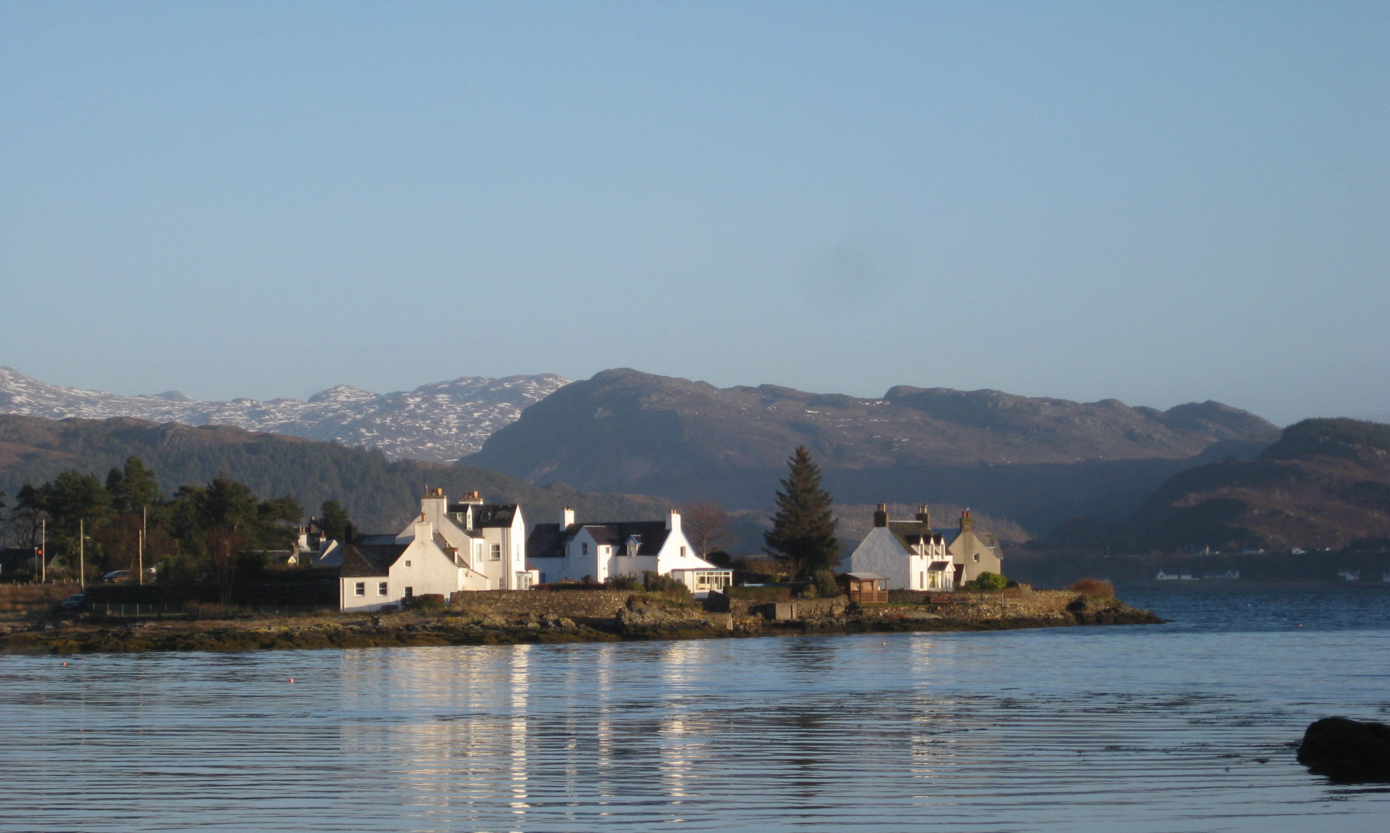 Plockton Cottage Scotland Highlands